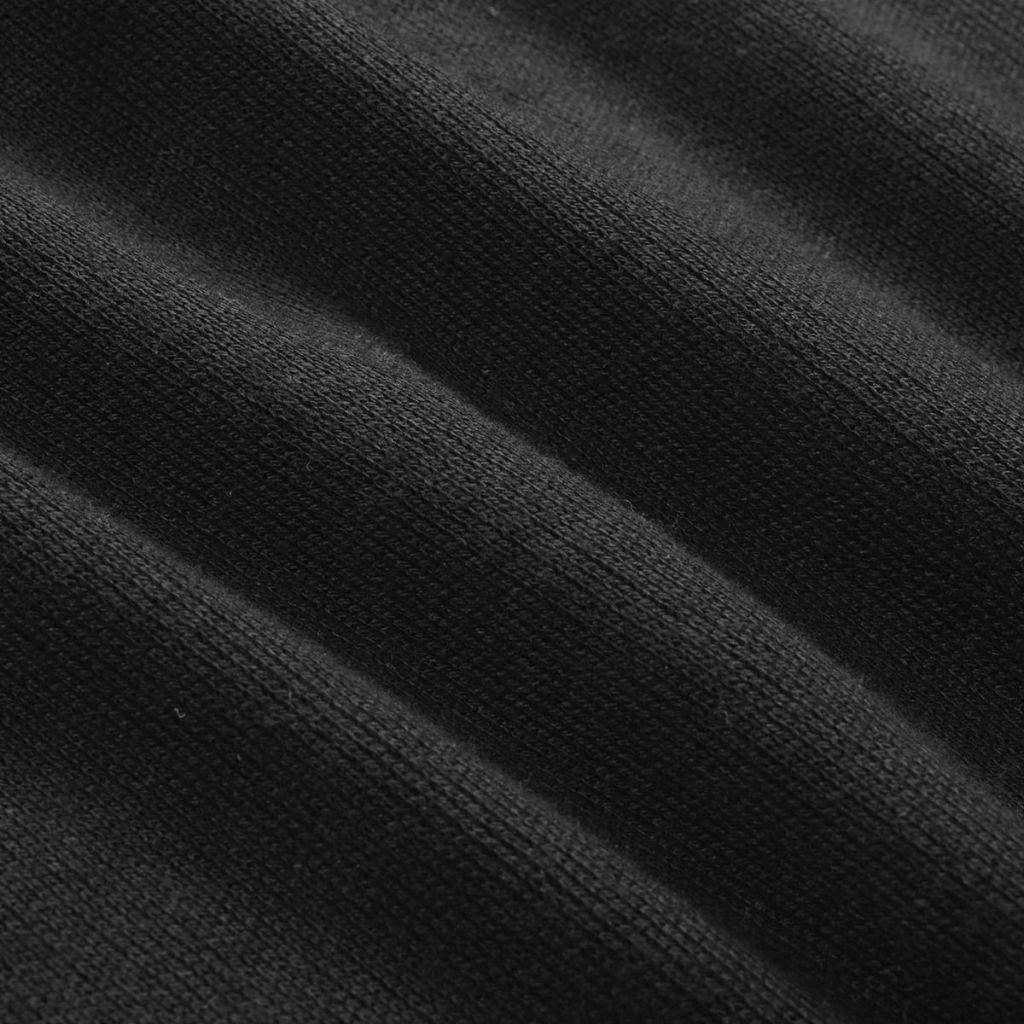 Męski Sweter, Okrągły Dekolt, Czarny, Rozmiar L