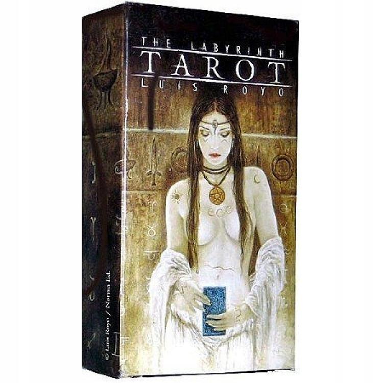 Karty The Labyrinth Tarot Luis Royo