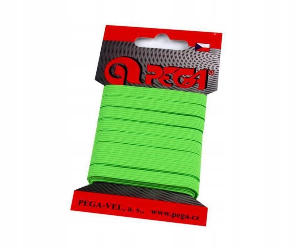 1karta (1805) zielony neonowy neon guma pleciona