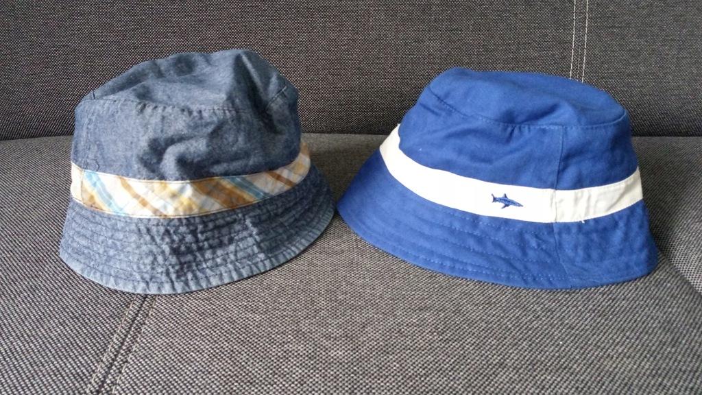 COOLCLUB i F&F 2x kapelusz plażowy r.48-50