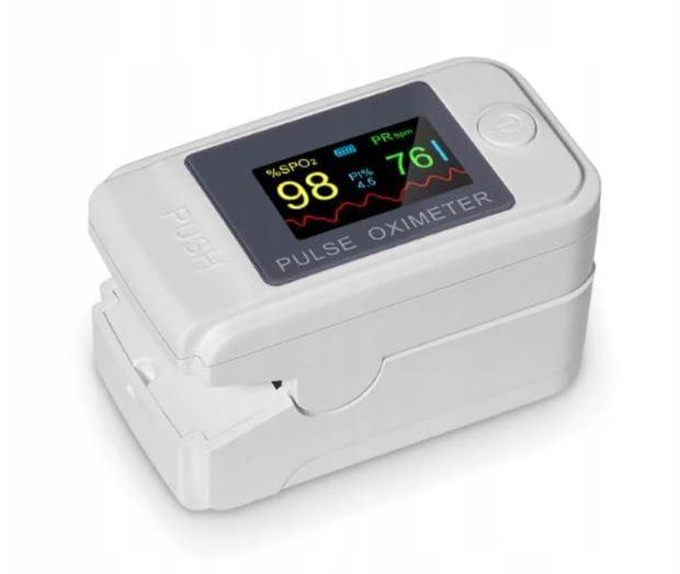 Pulsoksymetr napalcowy Tlenomierz OM-98 OXIMETER