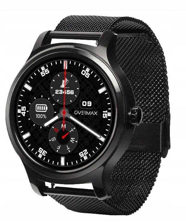 OVERMAX Smartwatch Touch 2.6 Black 3xPasek BLT