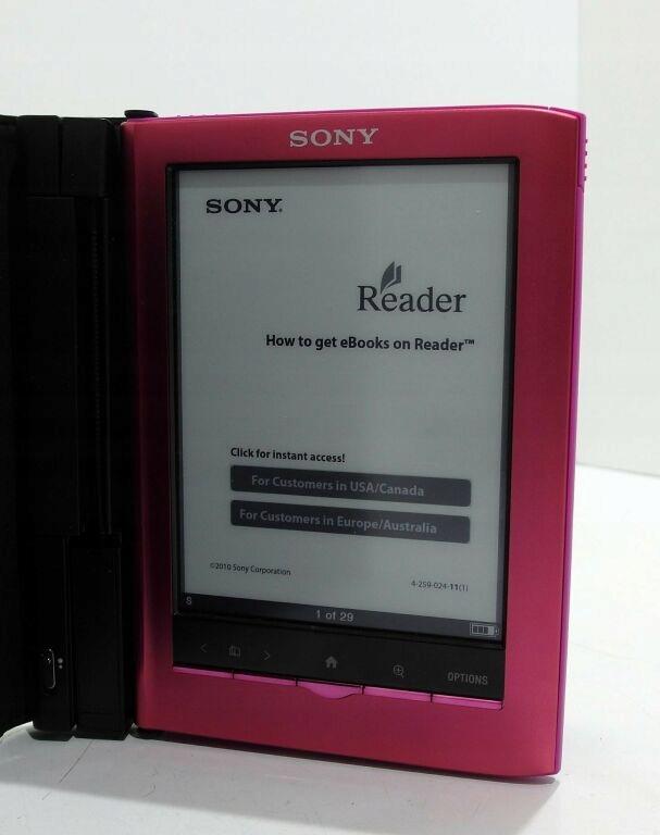 CZYTNIK E-BOOKÓW SONY READER PRS-350