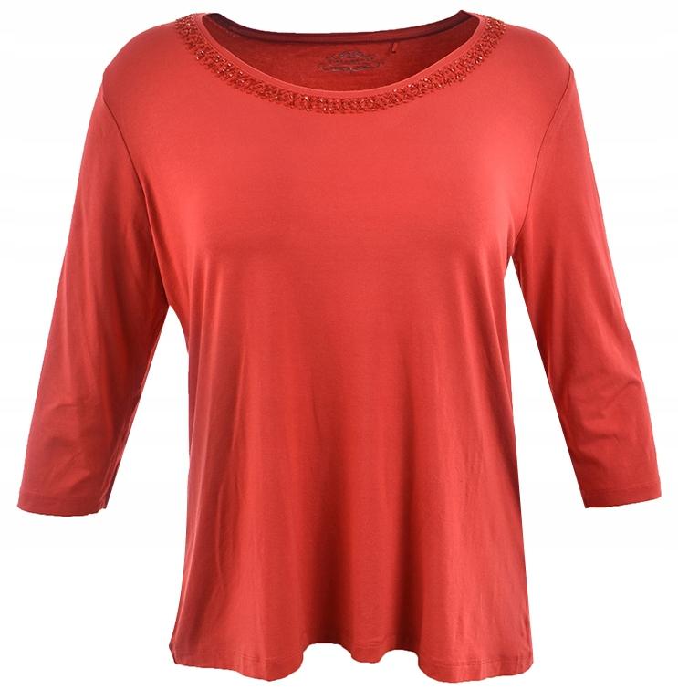 uBD2405 modna dzianinowa bluzka z aplikacja 50