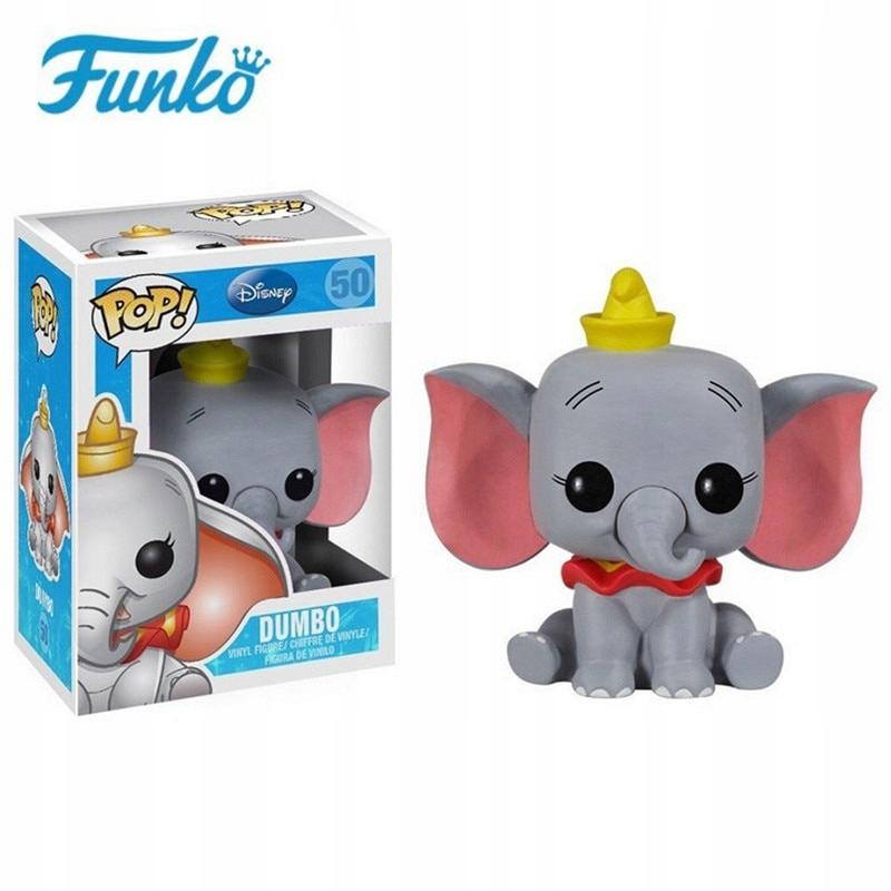 FUNKO POP Disney Cartoon Dumbo Action Toys Figures