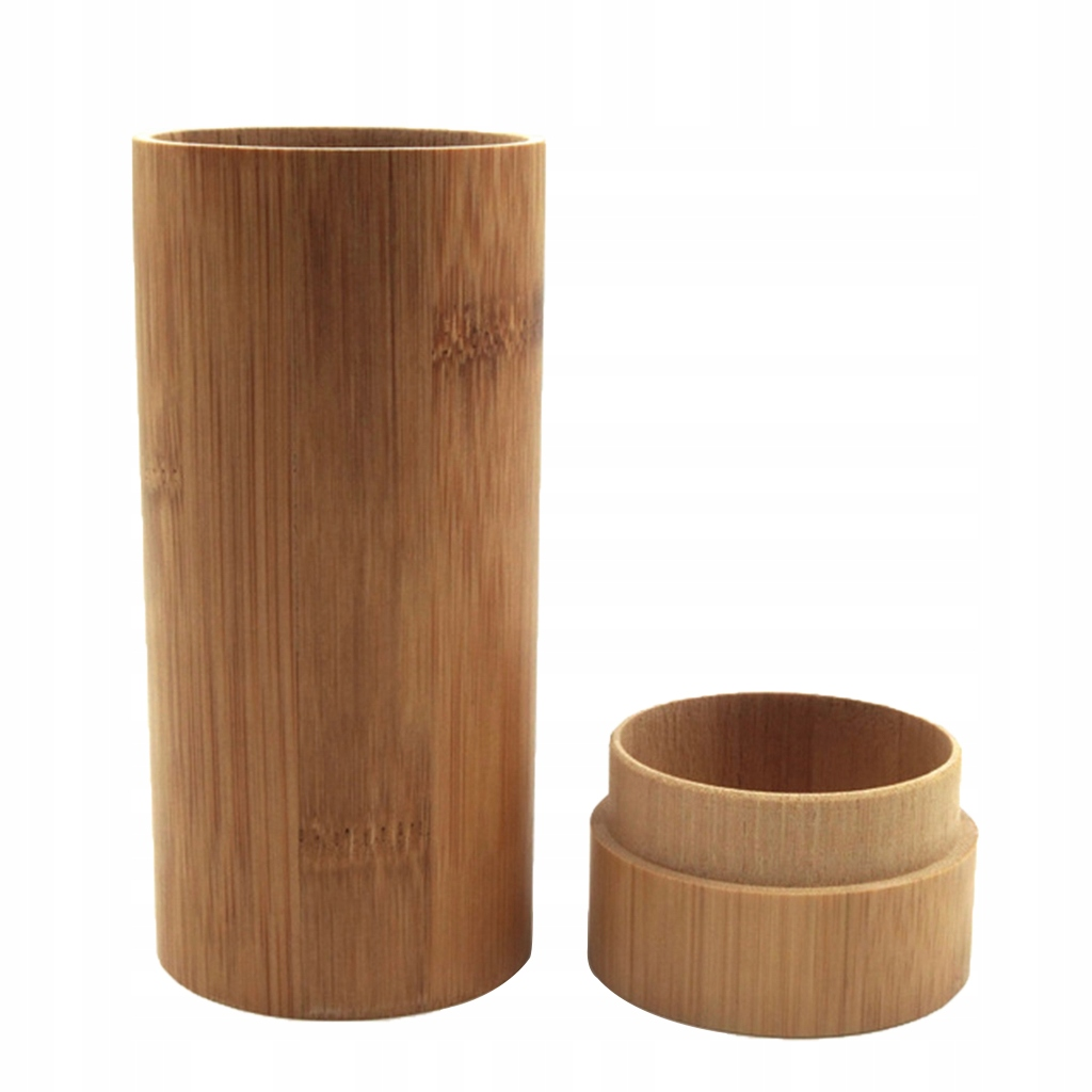 1 sztuka bambusowy drewniany futerał na okulary