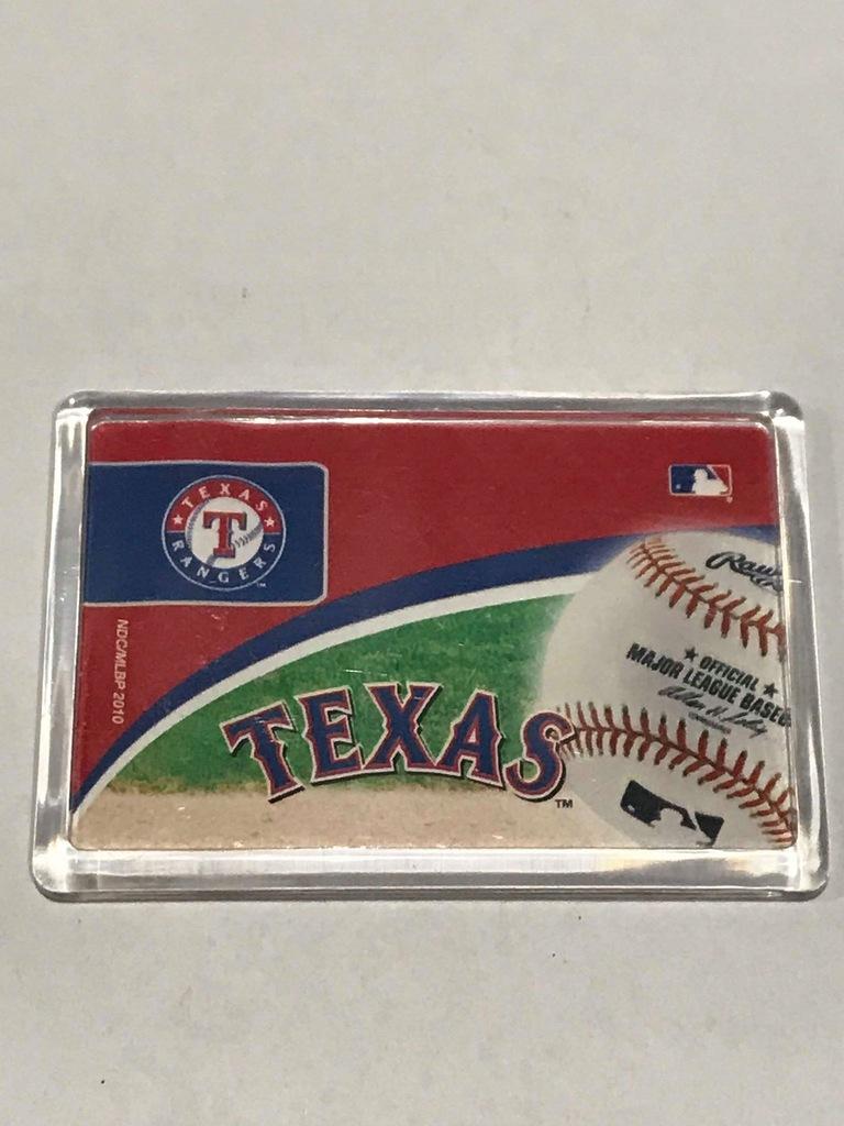 Magnes lodówkę magnez Texas Teksas Basebal Gra