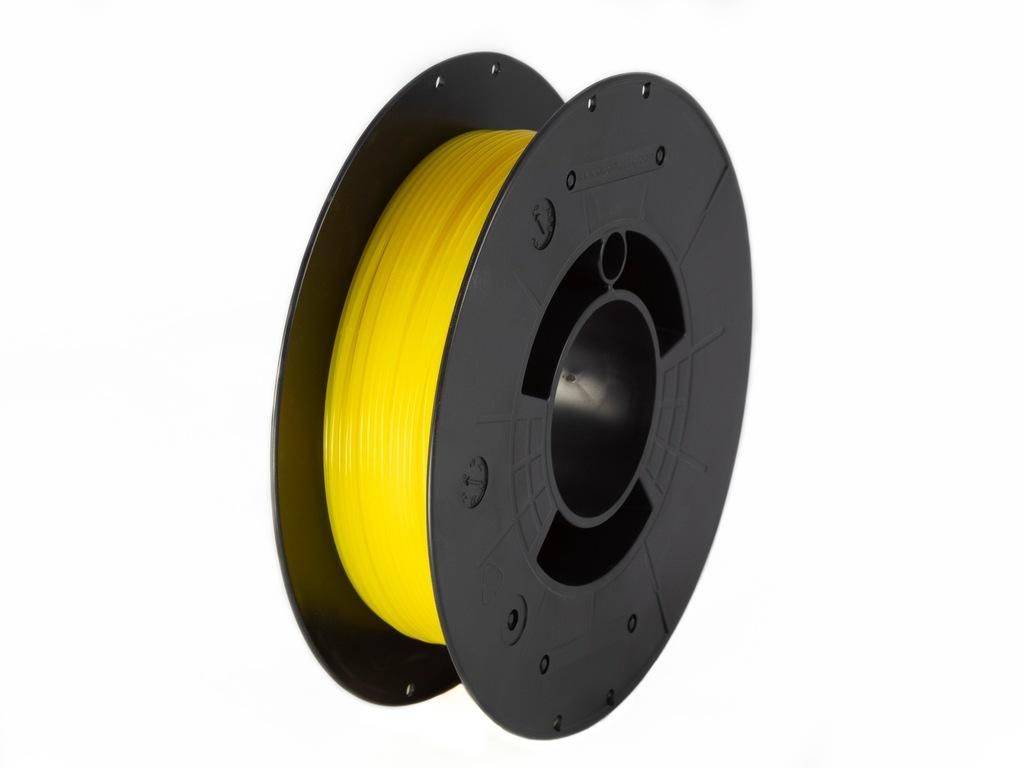 F3D Filament PET-G Yellow Transparent 0,2kg 1,75mm