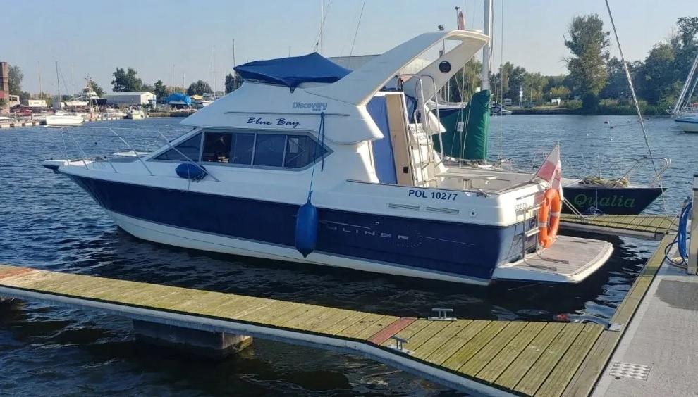 Łódź Motorowa Jacht Motorowy Bayliner 288 Discover
