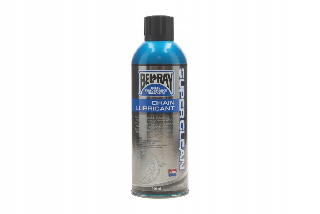 SMAR ŁAŃCUCHA BEL-RAY SUPER CLEAN CHAIN LUBE 400ML