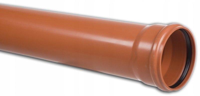 Rura kanalizacyjna zewnętrzna PVC 200X5.9X3000 SN8