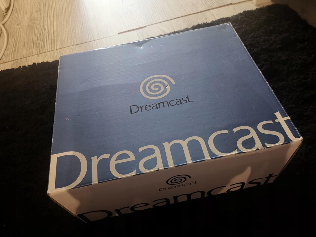 Sega Dreamcast komplet! Bardzo ładny stan.