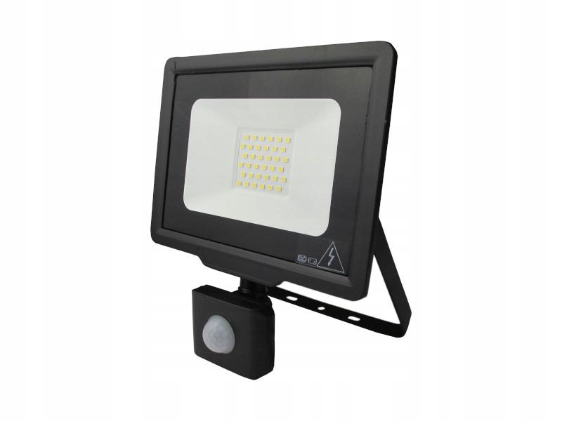 Naświetlacz LED z czujnikiem ruchu 30W neutralny