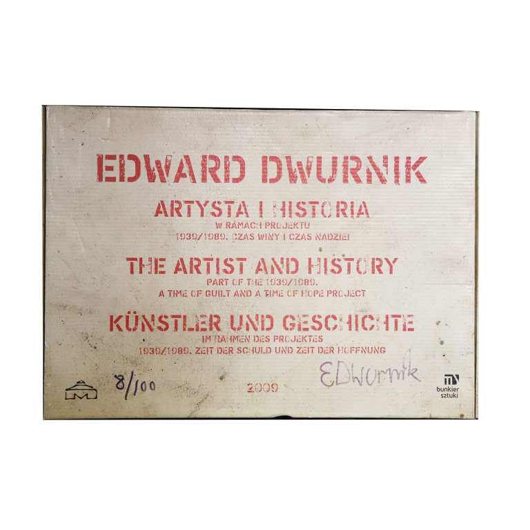 Katalog Edward Dwurnik nr 8/100 z autografem
