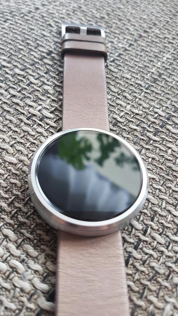 Smartwatch Motorola Moto 360 - OKAZJA