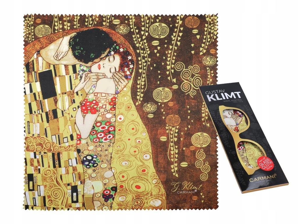 Ściereczka do okularów - G. Klimt. Pocałunek (CARM