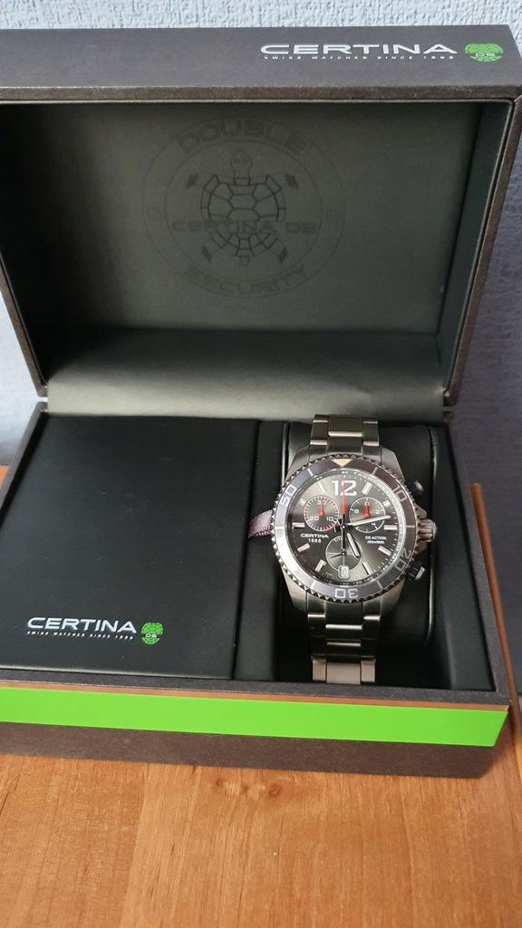 Zegarek Certina DS Action Titanium C0134174408700