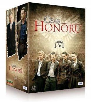 CZAS HONORU - Sezon 1-6 [ BOX 24 DVD ]