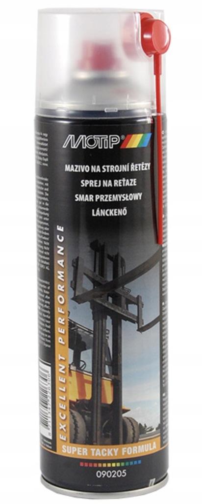 Smar do łańcuchów MOTIP spray 500ml