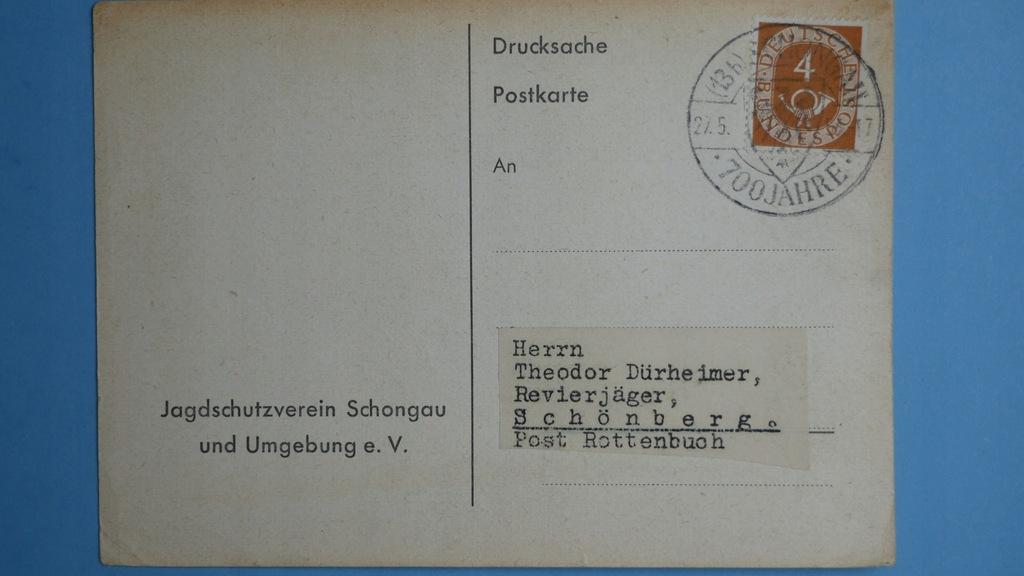 Niemcy kartka pocztowa 1953 (25)