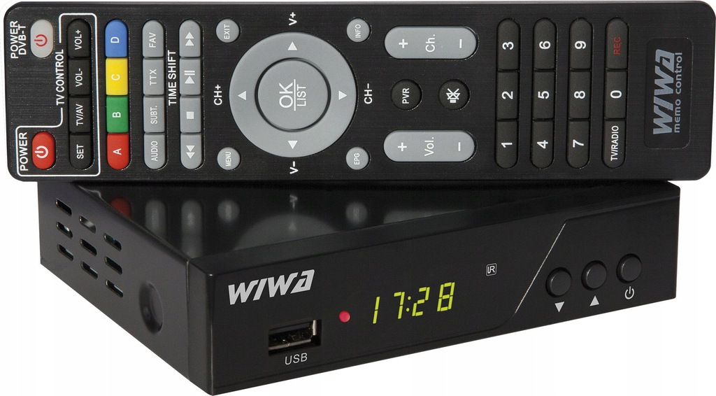 Tuner TV Wiwa H.265 Pro DVB-T2 [outlet]