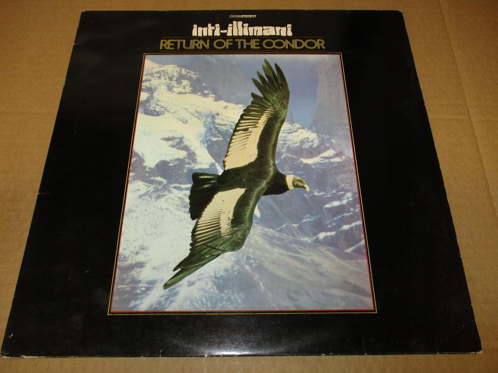 INTI-ILLIMANI RETURN OF CONDOR LP 1984 UK