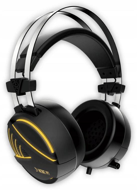 Słuchawki z podświetleniem 7.1 Hebe M1 USB Gamdias