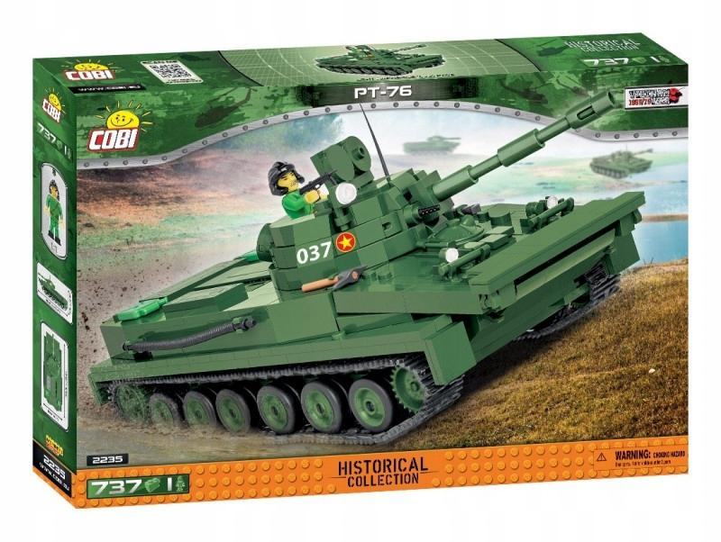 Cobi Klocki Klocki HC Vietnam War PT-76 737