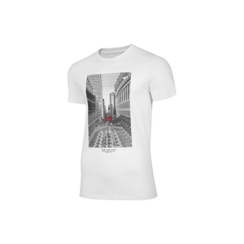 Koszulka 4F M H4Z20-TSM020 Biały