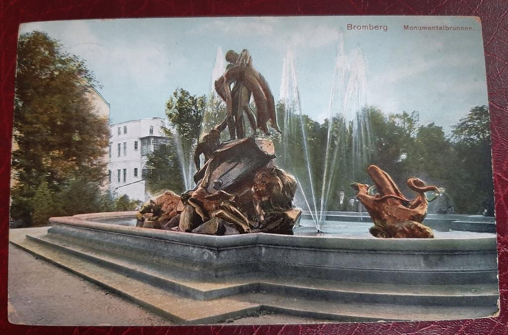 Pocztówka Bromberg-Bydgoszcz 1913 r