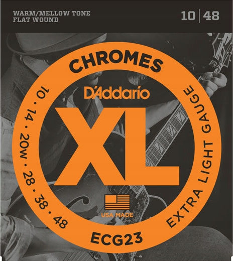 Daddario ECG23 10-48 - Struny do gitary elek.