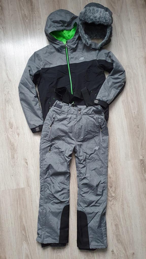 Kombinezon narciarski 4F + czapka r. 140