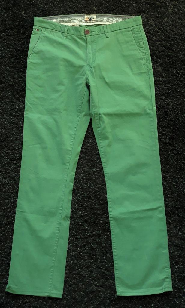 TOMMY HILFIGER spodnie męskie chino roz 32X36