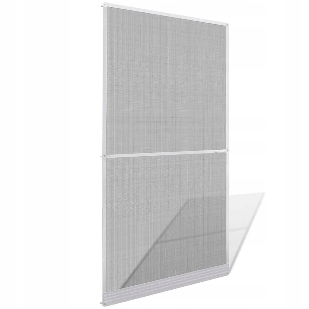 Moskitiera na drzwi, biała, 120 x 240 cm