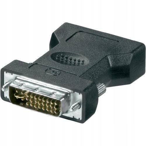 Przejściówka, adapter VGA (żeński) - DVI-I (męski)
