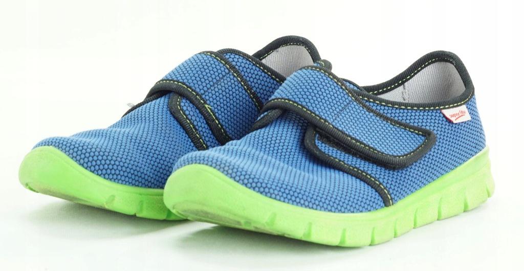 SUPERFIT tenisówki niebieskie na rzepy 32 S7 22