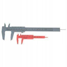 Suwmiarka 2 szt. z tworzywa 80 i 180mm cm i cale s