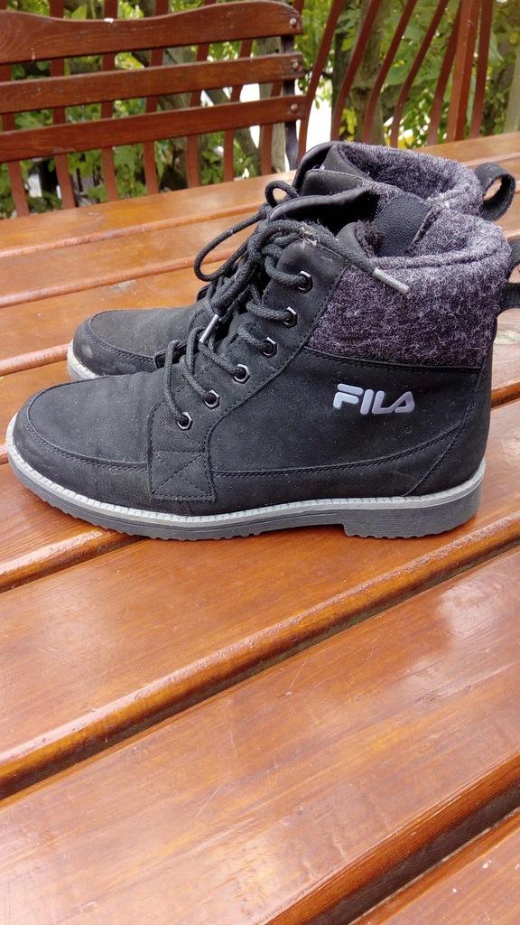 Buty chłopięce zimowe Fila roz 39