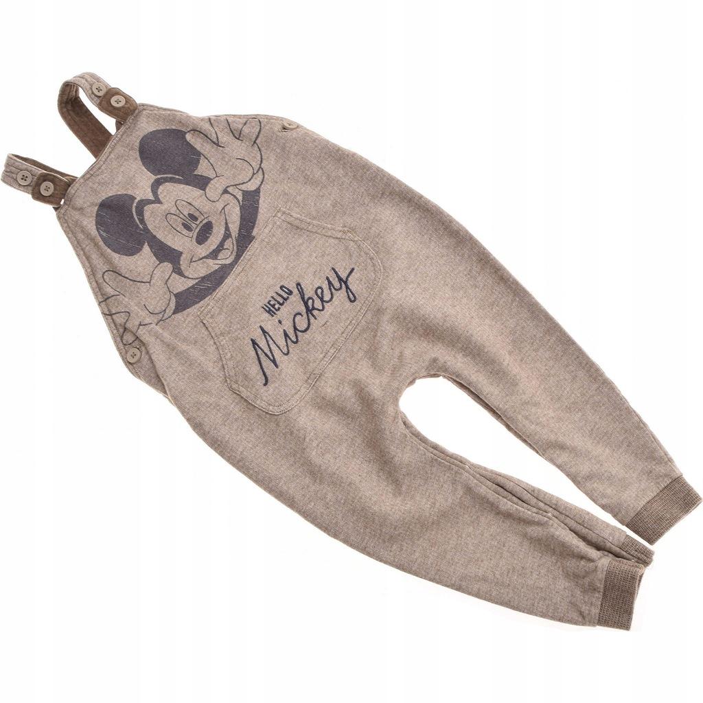 GEORGE spodnie Ogrodniczki Myszka Mickey 92