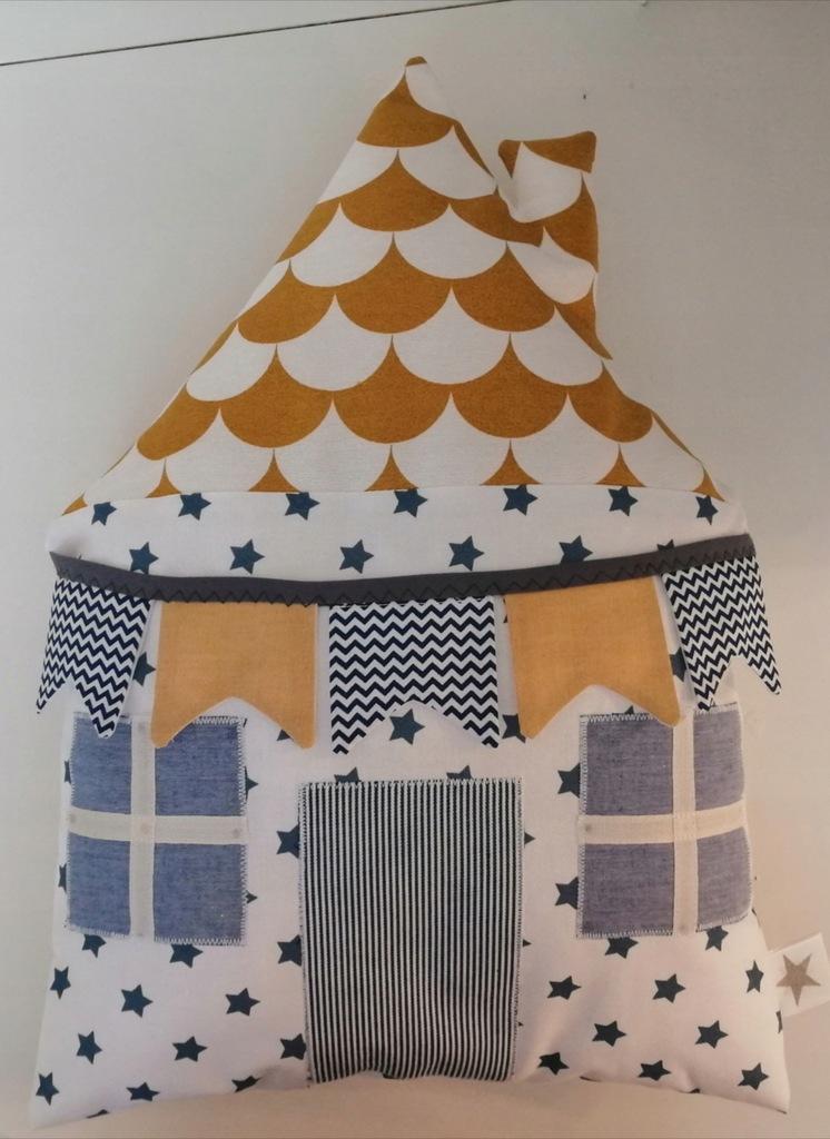 Poduszka domek tilda handmade