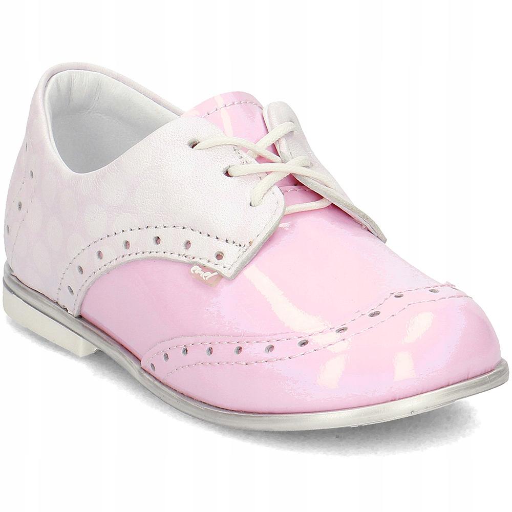 EMEL Różowe Buty Dziewczęce R.21
