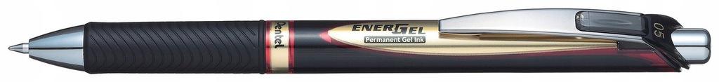 Cienkopis kulkowy Pentel Energel BLP75 czerwony