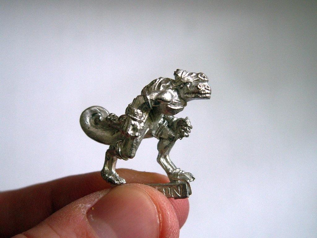 Kameleon Skink A - metal