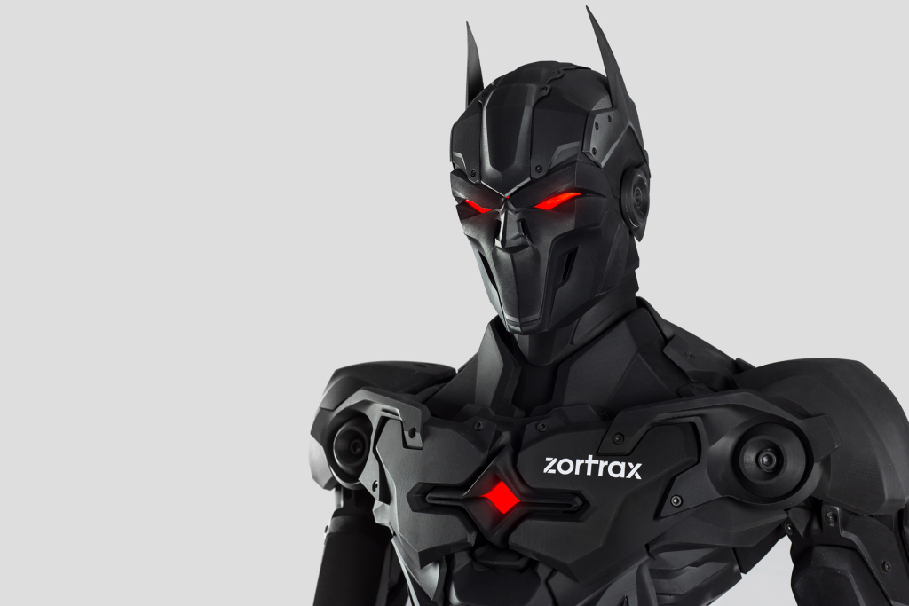 Model Super Bohatera drukowanego metodą 3D