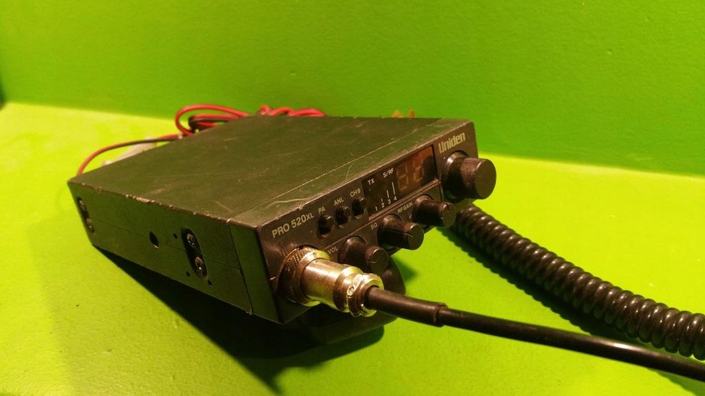 UNIDEN PRO 520XL RADIO PLUS GRUSZKA EM-410-4P