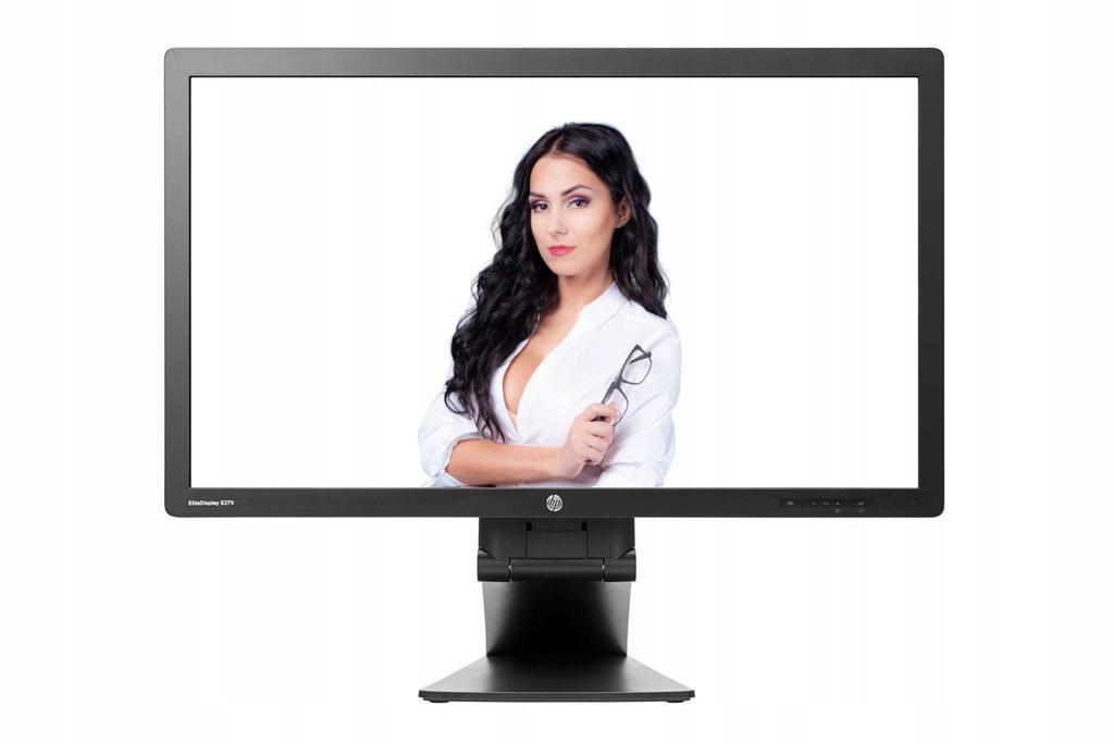 LCD 27 HP E271I LED IPS VGA DVI DP USB PIVOT FHD