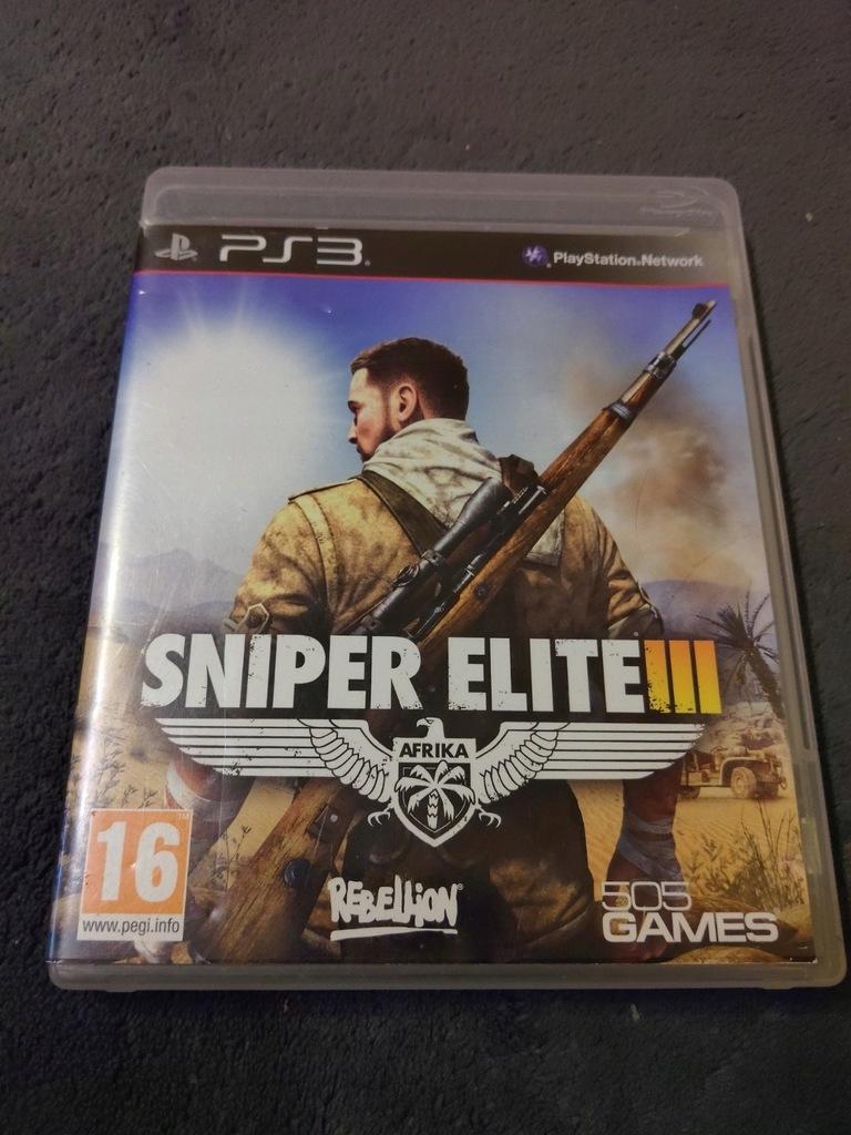 Sniper Elite Iii Ps3 9258620617 Oficjalne Archiwum Allegro