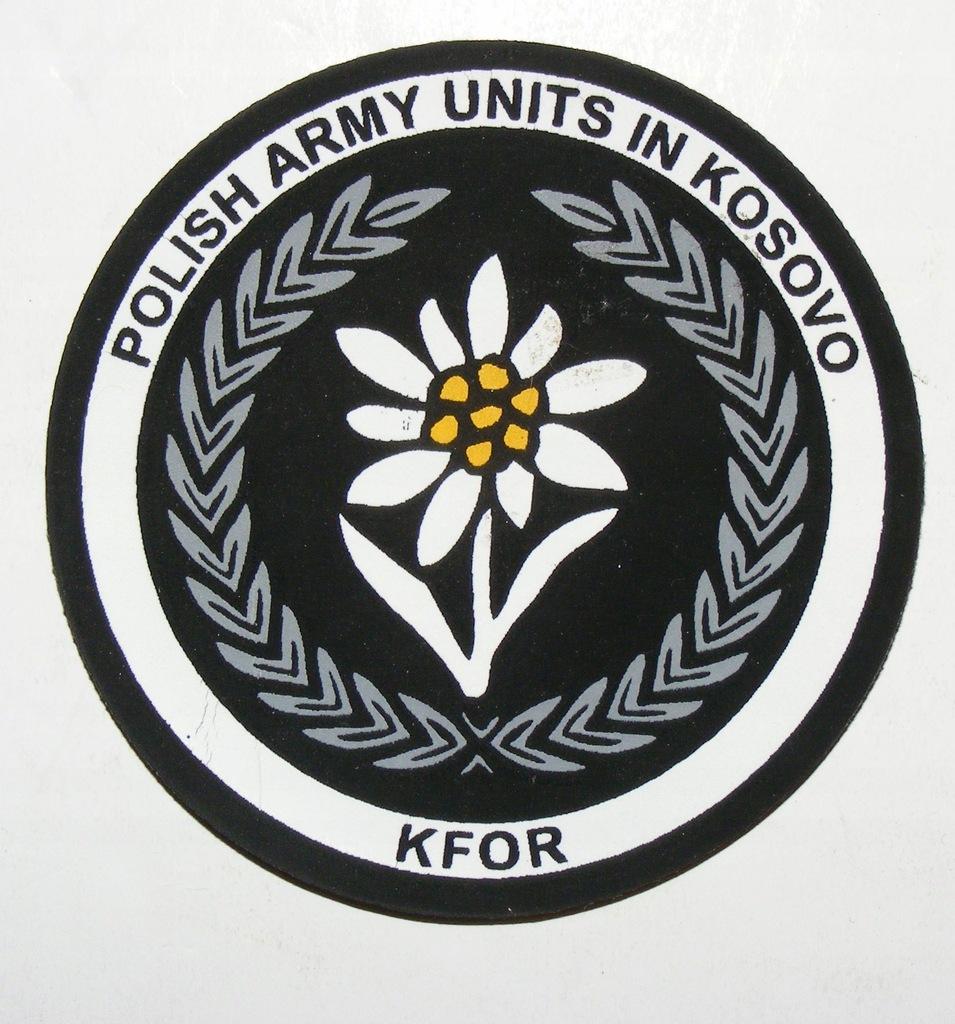 WP POLISH ARMY UNITS IN KOSOVO KFOR SITO #1