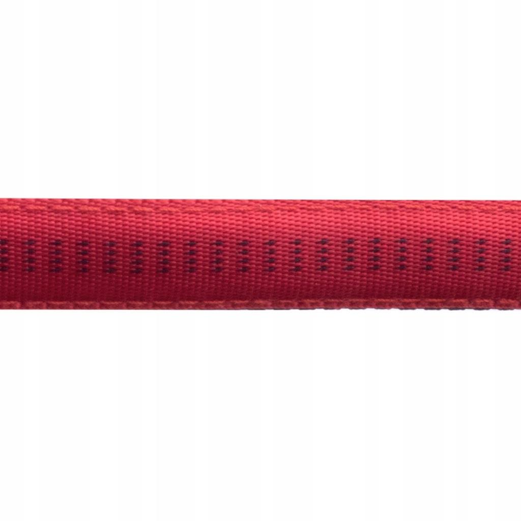 Smycz+obroża Soft Style Happet czerwień XL 2.5cm
