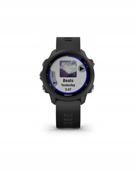 GARMIN Forerunner 245 SZARY HR ELEVATE GPS